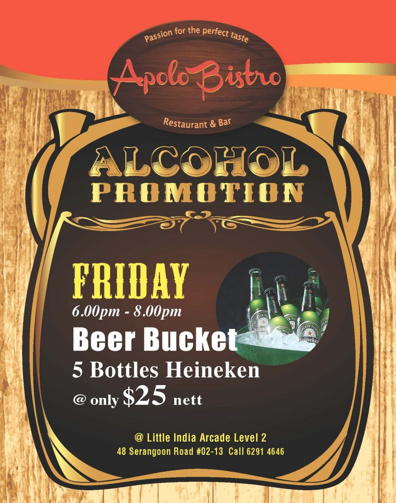 Alcohol Promotion Friday